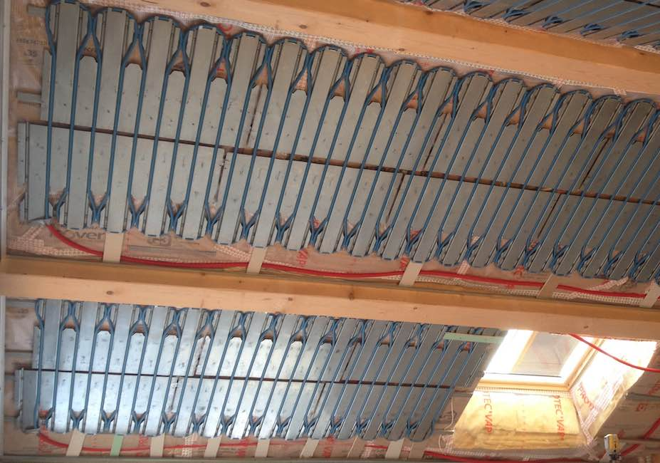 plafond chauffant rénovation isere
